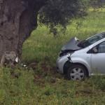 Incidente Stradale sulla Ostuni – Torre Pozzelle. Fuori strada una donna di 50anni
