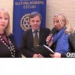 Ospite del Rotary Club Ostuni – Valle d'Itria – Rosa Marina: Bobbie Read, la costumista di alcuni dei più grandi film della storia del cinema