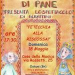 """""""Fetecchia alla Riscossa!"""". Domenica alla Casa della Musica"""
