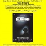 """Il festival cinematografico di Legambiente proietterà il film """"Dal profondo"""""""