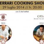 Cooking Show tra Sebastiano Lombardi e Alfio Ghezzi questa stasera al White Ostuni Beach