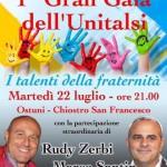 Al Gran Galà dell'Unitalsi Rudy Zerbi e Marco Santin