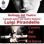 """La Bottega del Teatro di Mesagne porta a San Vito """"L'uomo dal fiore in bocca"""" di Pirandello"""