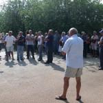 Riunito stamane il Comitato di Serranova per dire NO all'impianto di compostaggio in zona Pizzofalcone