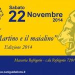 """""""San Martino e il Maialino"""" è l'evento organizzato dai Lions Club Ostuni. Sabato 22 novembre a Masseria Refrigerio"""