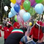 Inaugurati i giochi per bambini in un'area della villa comunale Sandro Pertini