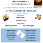 Il Presidio del Libro organizza la prima edizione della Maratona Letteraria