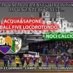 Coppa Puglia: l'Acqua&Sapone affronta in casa il Noci Calcio a 5