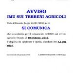 Imu agricola: ufficializzata la scadenza per il 10 febbraio