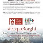 Al via il contest fotografico #ExpoBorghi