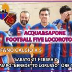 L'Acqua&Sapone difende il primato in classifica sfidando il Ruffano Calcio a 5