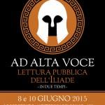Ad alta voce: stasera e mercoledì a Locorotondo va in scena l'Iliade