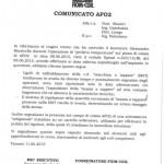 """FIOM CGIL: """"In AFO 2 macchine in avaria e con rattoppi artigianali"""""""