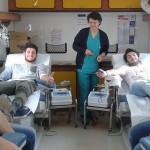 Gli studenti dell'Istituto Basile Caramia donano il sangue