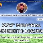 """Al via la 26^ edizione del torneo """"Benedetto Lorusso"""""""