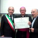 Cisternino, oggi conferita la cittadinanza onoraria a Mons. Dal Covolo