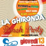 Ghironda Beach Party al LullaBay di Ostuni