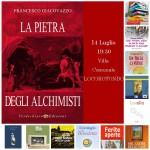 """Questa sera Francesco Giacovazzo presenta """"La pietra degli alchimisti"""""""