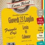 Locus Talent: al Friends Cafè di Locorotondo si sfidano i Lenin e Caboose