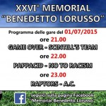 Memorial Benedetto Lorusso: terza giornata