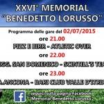 Memorial Benedetto Lorusso: quarta giornata