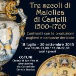 """Museo Civiltà Preclassiche, """"Tre secoli di maiolica di castelli"""" dal 18 luglio al 30 settembre"""