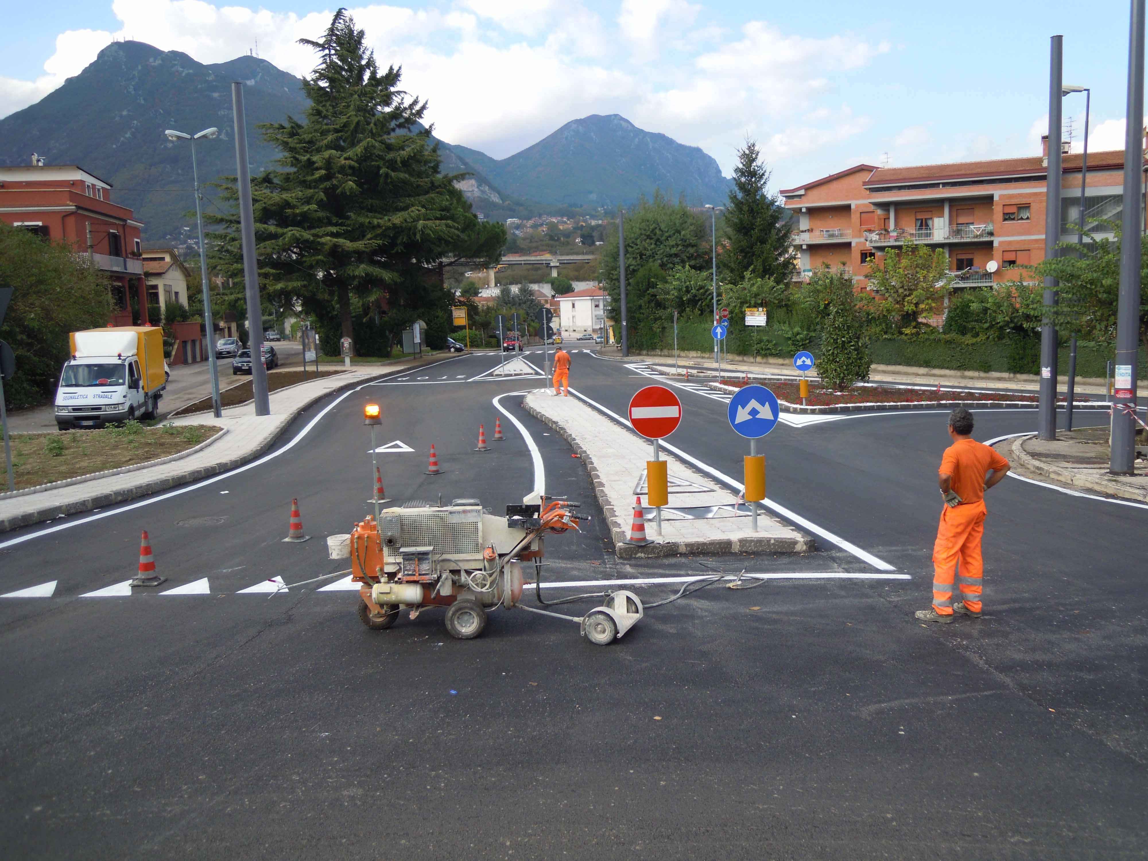 Rifacimento Segnaletica Stradale Orizzontale Le Vie