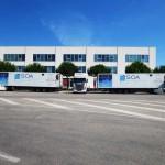 Trasporto green. La SOA Corporate di Alberobello presenta 3 TIR a metano