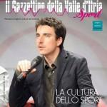 Mario Desiati sulla copertina del numero estivo del Gazzettino della Valle d'Itria Sport
