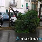 Acquazzone a Martina Franca. La conta dei danni