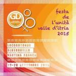 Al via oggi la 1° Festa de l'Unità Valle d'Itria