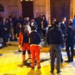Rissa in Piazza XX Settembre. Un ferito. Intervengono i carabinieri