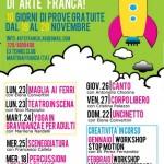 Arte Franca, tutto pronto per i corsi 2015-16: da domenica partono le lezioni-prova