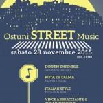 """Al via la stagione invernale con """"Ostuni Street Music"""" sabato 28 novembre"""
