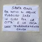 Santa Claus. Affluenza enorme. Ex Ospedaletto chiuso, Babbo Natale in giro per la città