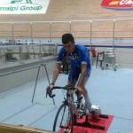 Alessandro Monaco: terminata la tre giorni di test a Riccione