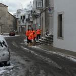 Neve: previste precipitazioni deboli. Intanto a Locorotondo si continua a lavorare per mettere in sicurezza le strade