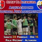 Acqua&Sapone contro l'Altamura per difendere il quinto posto in classifica