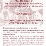 Premio Cultura: al via l'XIII Concorso per tesi di laurea riguardanti il territorio della Valle D'itria