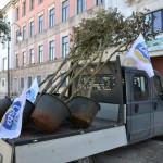 """Piazza Marconi, Idealista: """"Che fine hanno fatto i nostri alberi?"""""""