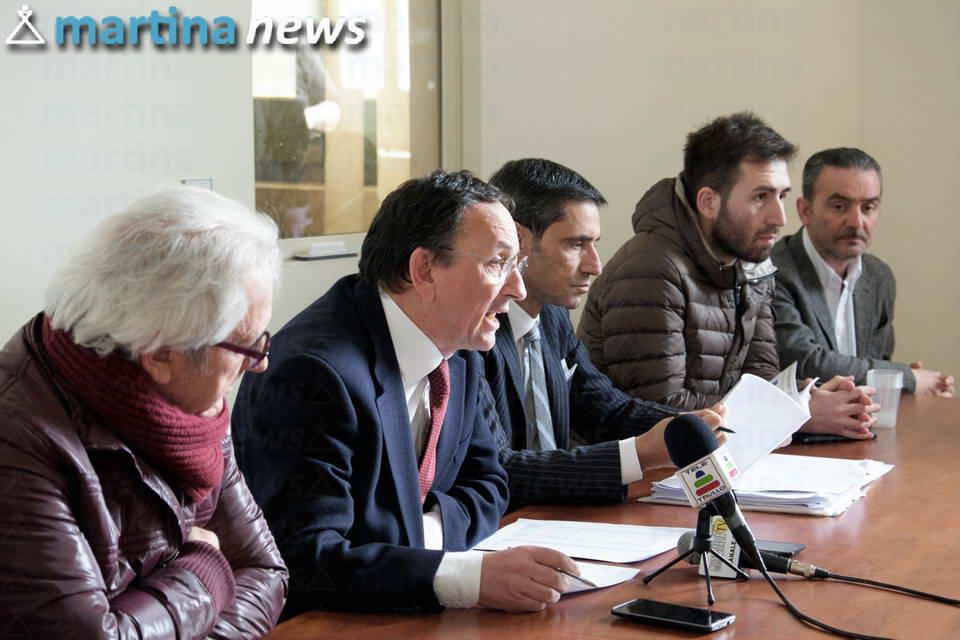 conferenza stampa riordino ospedaliero