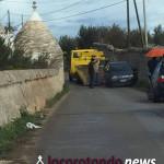 Ennesimo incidente sulla strada vecchia Locorotondo-Martina
