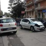 Incidente tra via Taranto e viale dei Lecci. Nessun ferito