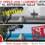 Referendum 17 aprile. Il PdCI di Martina denuncia l'indifferenza delle istituzioni