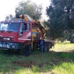 Rintracciato in poche ore camion rubato. Poteva essere usato per assalti in banca