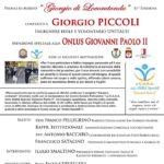 Il Premio Giorgio di Locorotondo sarà conferito a Giorgio Piccoli