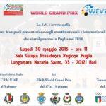Lunedì la presentazione degli eventi di volley in Puglia. A luglio il Wevza ad Ostuni