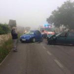 Incidente stradale in Via Massafra: due auto coinvolte