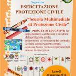 """""""Scuola multimediale di protezione civile"""": lunedì in piazza Moro la conclusione del progetto"""
