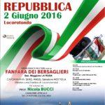 Locorotondo festeggia la Repubblica con la parata Bersaglieri